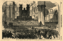 Festival of the sons of the clergy, in St. Paul's Cathedral. London 1854